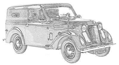 Renault Juva 4 / Dauphinoise