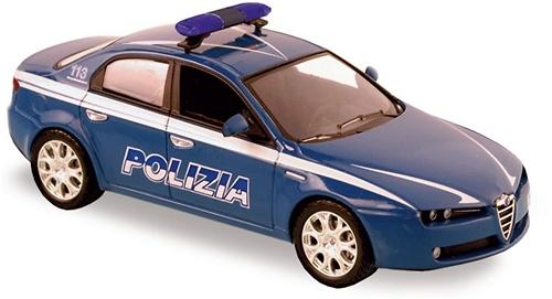 Alfa Romeo 159 (2005) Policia Norev 790028 1/43