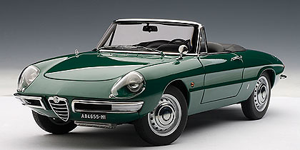 Alfa Romeo 1600 Duetto (1966) Autoart 70136 1/18