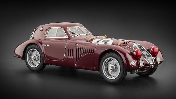 Alfa Romeo 8C 2900B nº 19 24h Francia (1938) CMC M-111 1:18