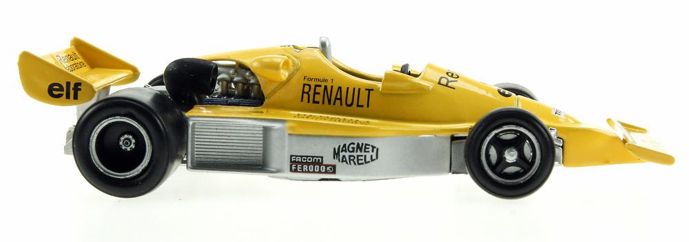 Alpine A500 Prototipo F1 del laboratorio Renault (1976) Eligor 101256 1/43