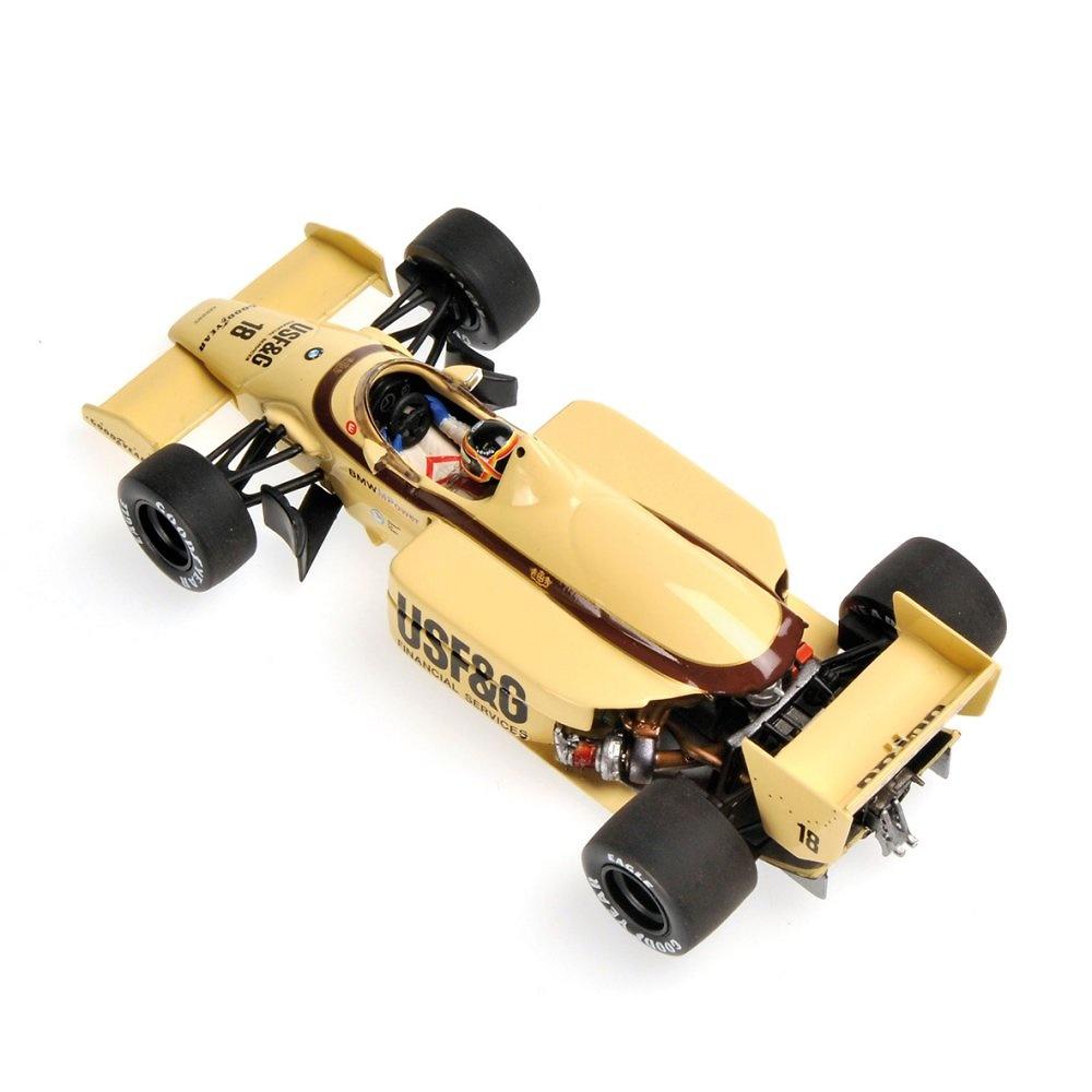 Arrows A8 nº 18 Thierry Boutsen (1986) Minichamps 400860018 1:43