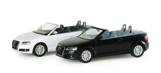 Audi A3 Cabriolet (2008) Herpa 023993 1/87
