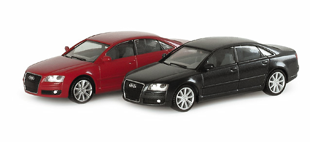 Audi A8 Limousina Facelift (2005) Herpa 023368 1/87