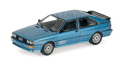 Audi Coupé Quattro (1981) Minichamps 430019427 1/43