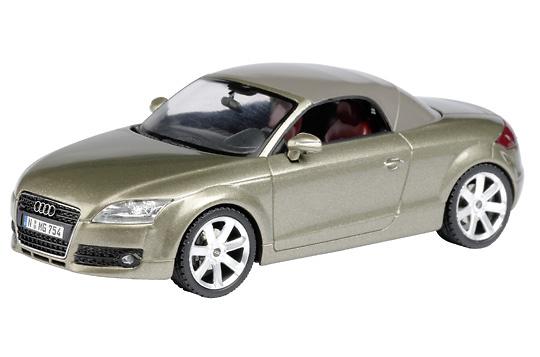 Audi TT Roadster c/ techo cerrado (2007) Schuco 04784 1/43