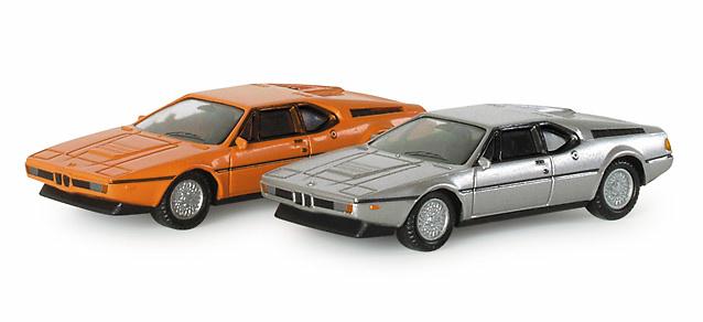 BMW M1 -E26- (1978) Herpa 023634 1/87