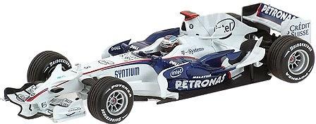 BMW Sauber F1.08 nº 3 Nick Eidfeld (2008) Minichamps 400080003 1/43