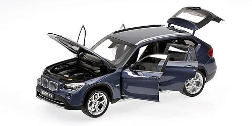 BMW X1 -E84- (2009) Kyosho 08791BL 1/18