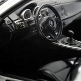 Bmw Z4 M Coupe Interior: BMW Z4 M Coupé -E86- (2006) Kyosho 08583S 1/18