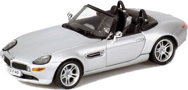 BMW Z8 Roadster James Bond -E52- (2000) Minichamps 436028730 1/43