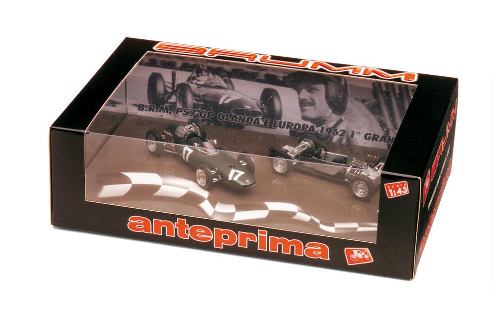 BRM P57 + Chasis GP. Holanda nº 17 Graham Hill (1962) Brumm A004 1/43