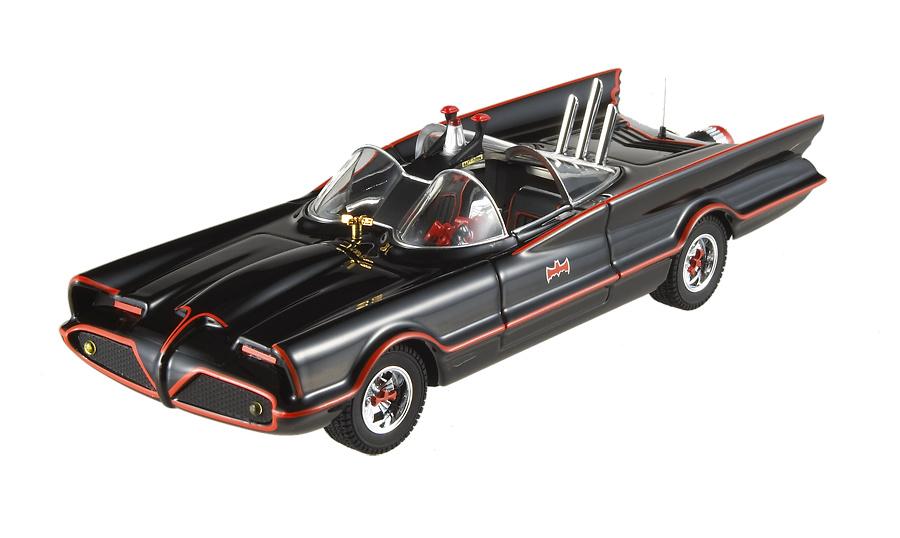 Batmovil Clásico Serie deTelevisión (1966) Hot Wheels R1795 1/43