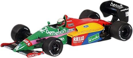 Benetton B187 nº 19 Teo Fabi (1987) Minichamps 400870019 1/43