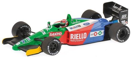 Benetton B189 nº 20 Emanuel Pirro (1989) Minichamps 400890020 1/43