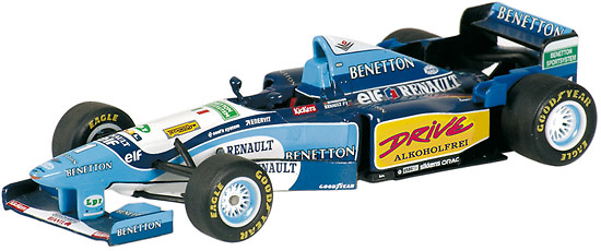 Benetton B195 Nº 1 Michael Schumacher (1995) Minichamps 400950001 1/43