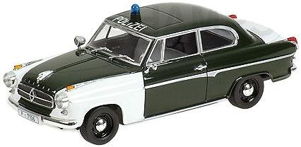 Borgward Isabella (1958) Policia Minichamps 400096090 1/43