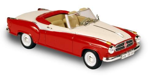 Borgward Isabella Cabrio (1958) Norev 820006 1/43