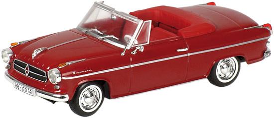 Borgward Isabella Cabrio (1959) Minichamps 400096060 1/43