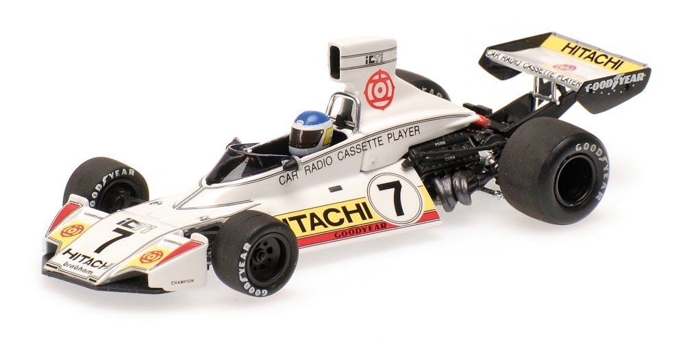 Brabham BT44 nº 7 Carlos Reutemann (1974) Minichamps 400740107 1:43