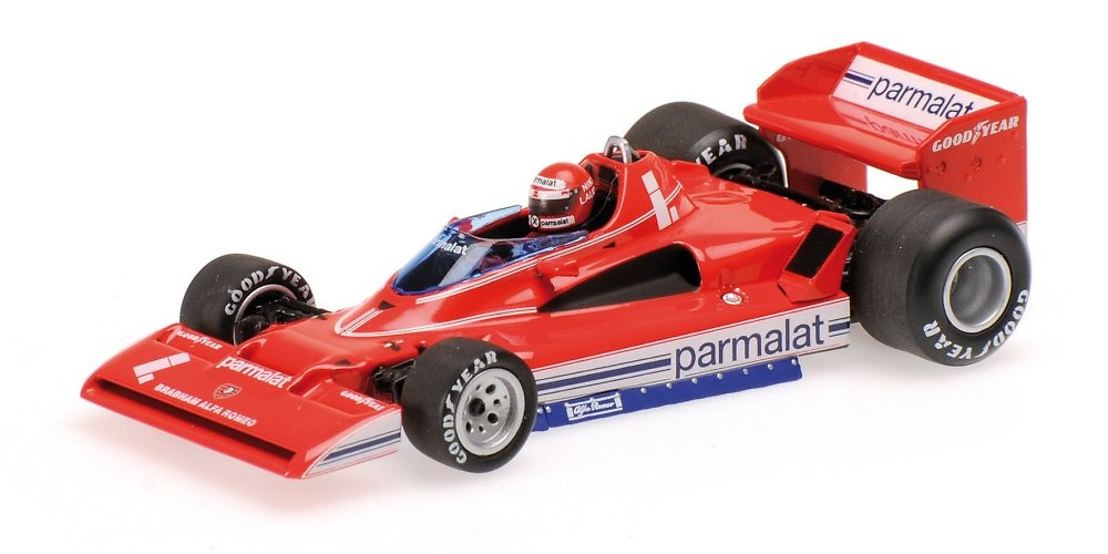 Brabham BT45C nº 1 Niki Lauda (1978) Minichamps 400780001 1:43