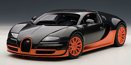 Bugatti Veyron 16.4 Super Sport (2010) Autoart 70936 1:18