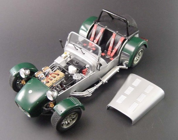 Caterham Super 7 Kyosho 08222SG 1/18