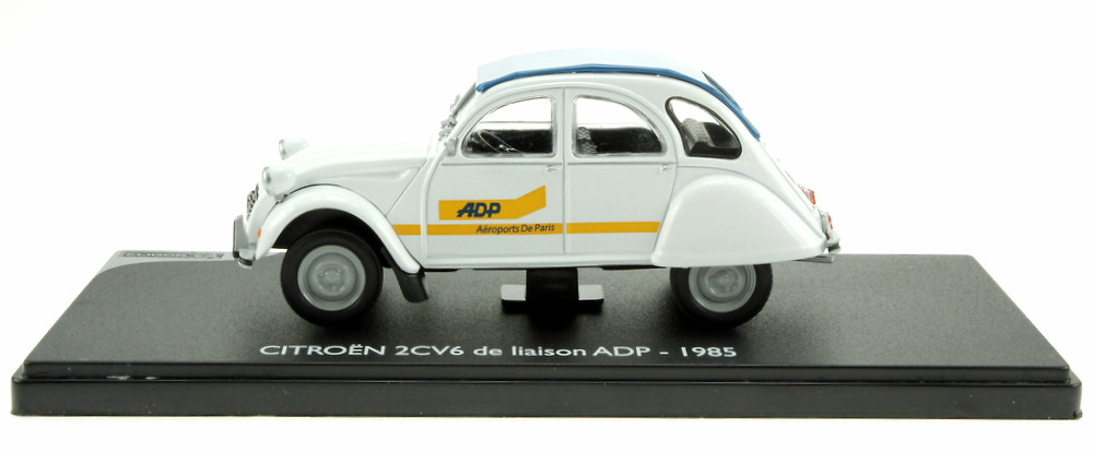 Citroen 2CV 6 laison ADP (1985) Eligor 101393 1/43