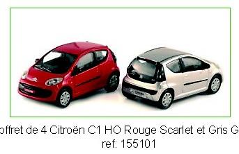Citroen C1 (2005) Norev 155102 1/87