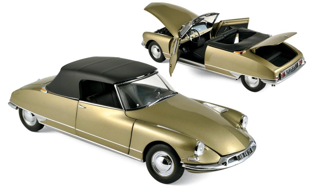 Citroen DS19 Cabriolet (1961) Norev 181563 1:18