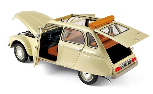 Citroën Dyane 6 (1970) Norev 181620 1:18
