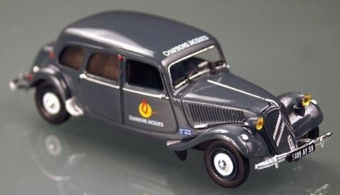 Citroen Traction 11 Comercial (1954) Norev 153047 1/43