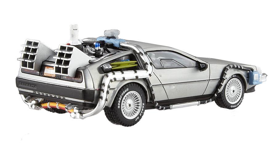 De Lorean - La máquina del tiempo - Regreso al futuro II Hot Wheels BCK08 1:43