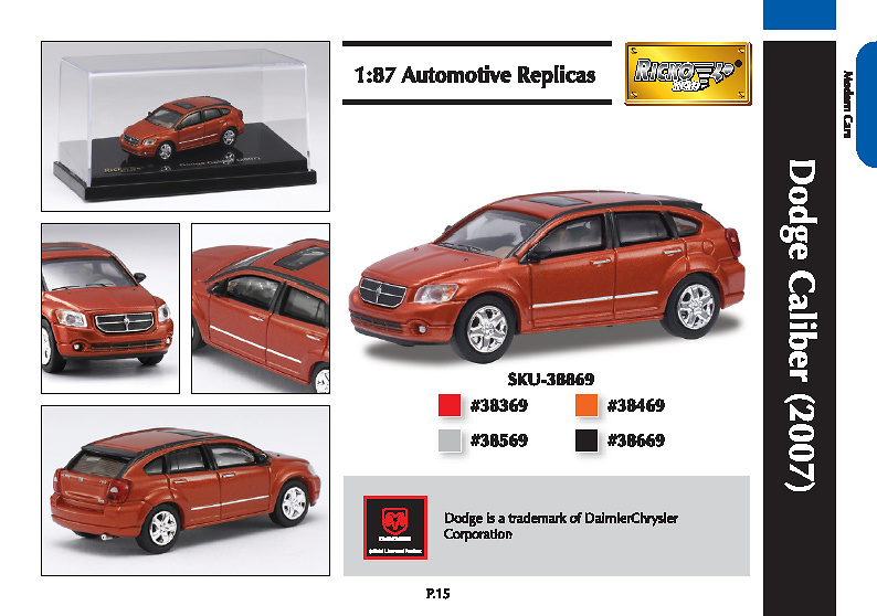 Dodge Caliber (2007) Ricko 9838869 1/87