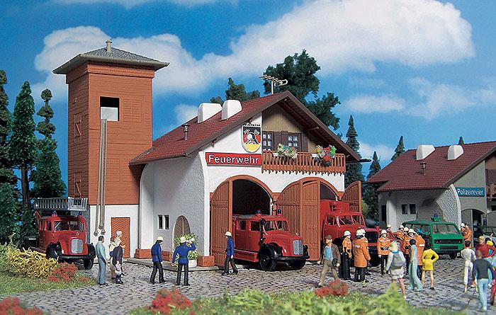 Estación de Bomberos Kit Vollmer 3761 1/87