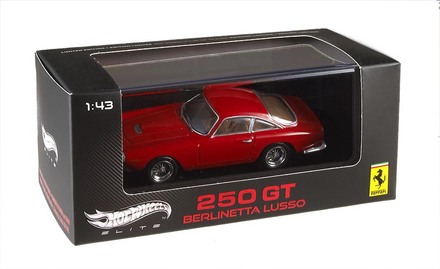 Ferrari 250 GT Berlineta Lusso (1962) Hot Wheels V4735 1/43
