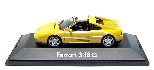 Ferrari 348TS (1989) Herpa 010214 1/43