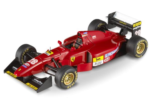 Ferrari 412 T1B nº 28 Gerhard Berger (1994) Hot Wheels 1/43