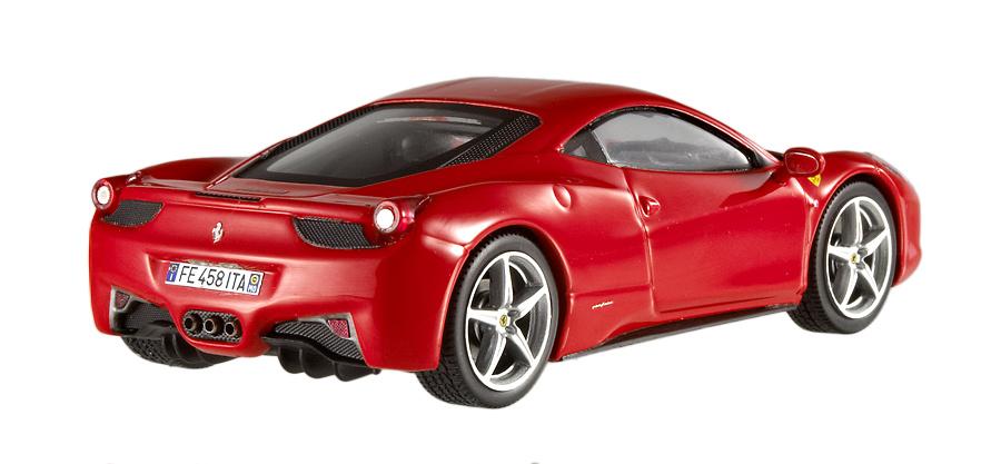 Ferrari 458 Italia (2010) Hot Wheels X5502 1/43
