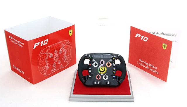 Ferrari F10 Volante del monoplaza (2010) Amalgam M5359 1/4