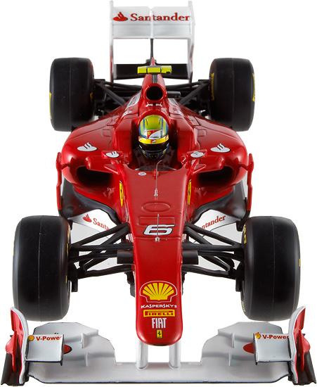 Ferrari F150 nº 6 Felipe Massa (2011) Hot Wheels W1074 1/18