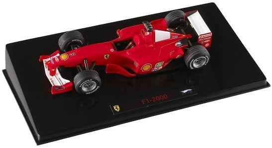 Ferrari F2000 nº 3 Michael Schumacher (2000) Hot Wheels 1/43