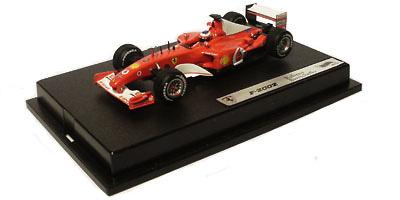Ferrari F2002 nº 2 Rubens Barrichello (2002) Hot Wheels 54619 1/43