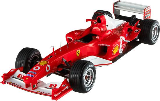 Ferrari F2003 GA nº 1 Michael Schumacher (2003) Hot Wheels Elite 1/18