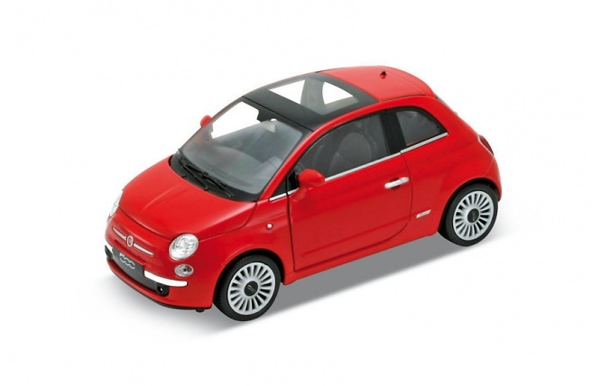 Fiat 500 (2007) Welly 22514 1:24