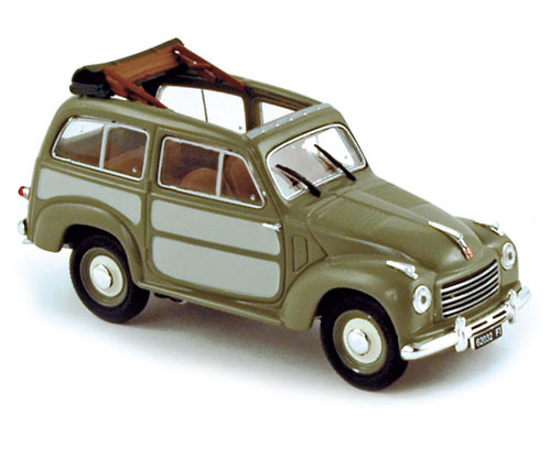 Fiat 500 Belvédère (1952) Norev 770065 1/43