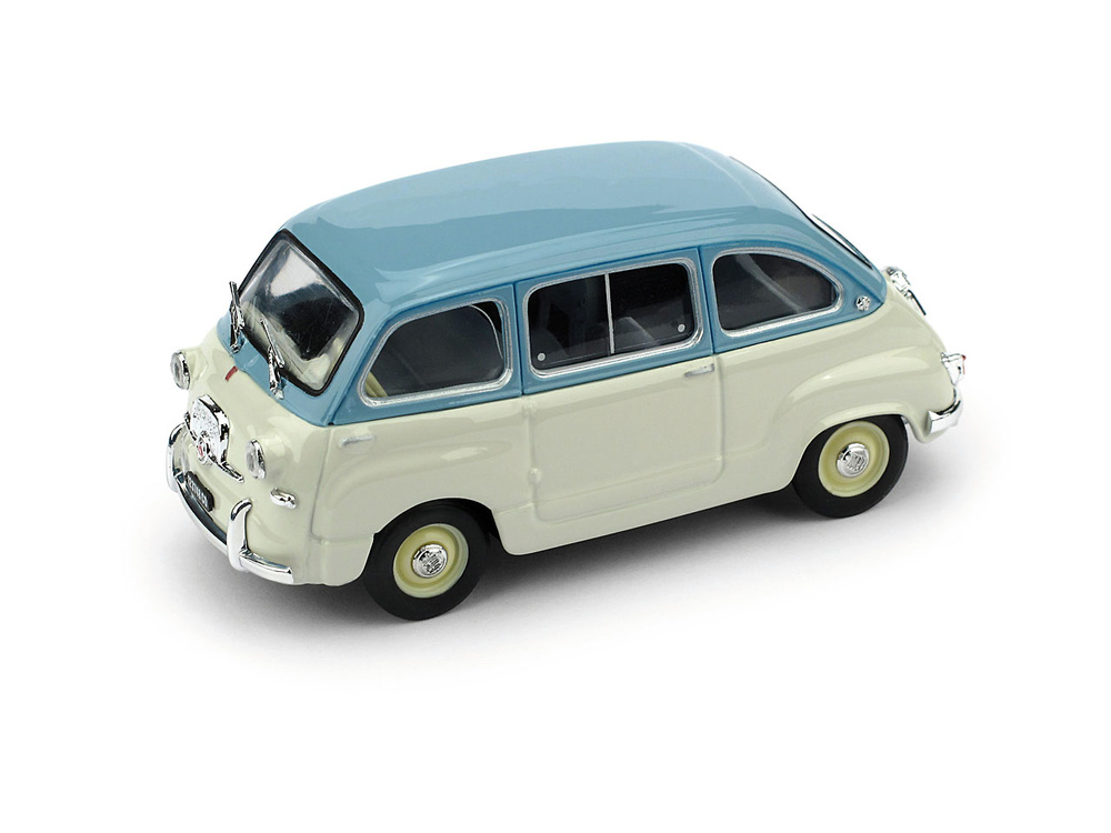 Fiat 600 Multipla 1ª Serie (1956) Brumm R250 1/43