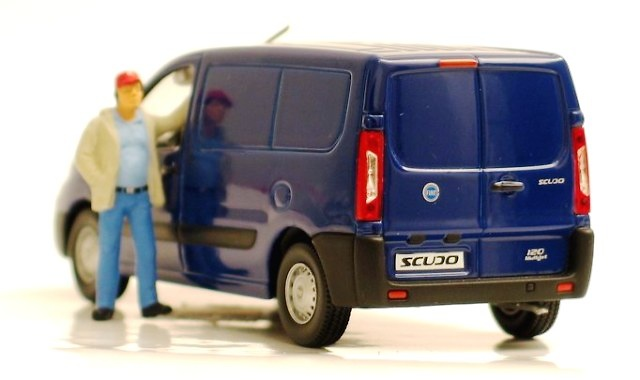Fiat Scudo Cerrada (2006) Norev 776002 1/43