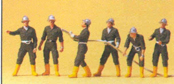 Figuras Bomberos Austriacos Preiser 10230 1/87