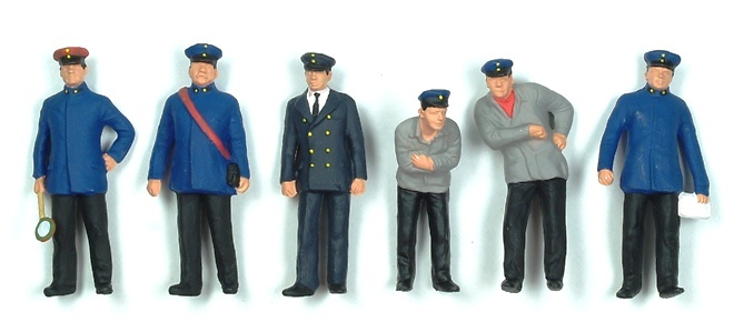 Figuras Personal Tren Preiser 65329 1/43